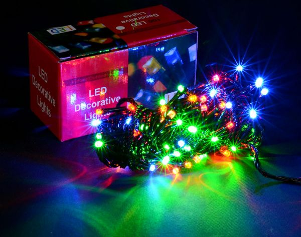 Гирлянда нить светодиодная 100 LED
