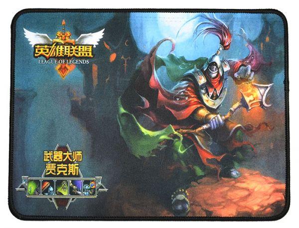 Качественный игровой коврик стилизованный под игру League of Legends W1
