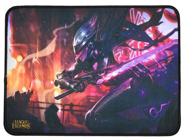 Качественный игровой коврик стилизованный под игру League of Legends W2