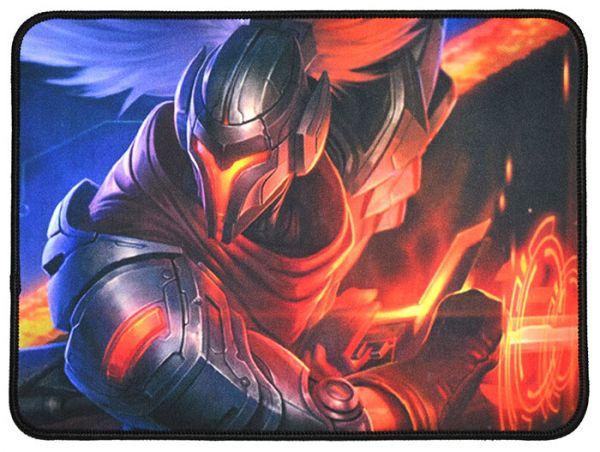 Качественный игровой коврик стилизованный под игру League of Legends W5