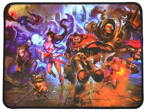 Качественный игровой коврик стилизованный под игру League of Legends W7