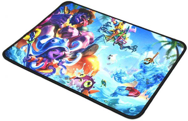 Качественный игровой коврик стилизованный под игру League of Legends W6
