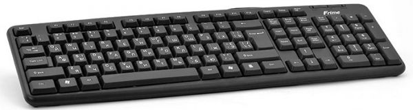 Клавиатура проводная Frime FKBS-002 USB+