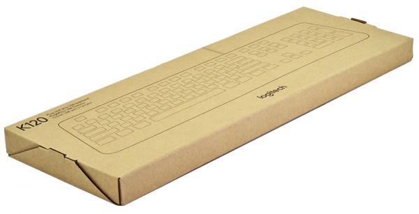 Клавиатура проводная Logitech K120 (Бесшумная)