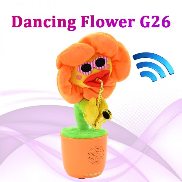 АКЦИЯ! Портативная bluetooth колонка Dancing Flower G26