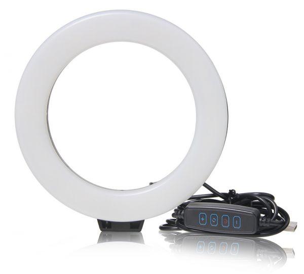 АКЦИЯ! Кольцевая светодиодная селфи лампа 20 см RING FILL LIGHT