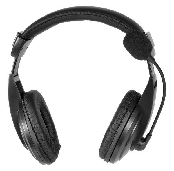 Стереонаушники проводные с микрофоном REAL-EL GD-750MV