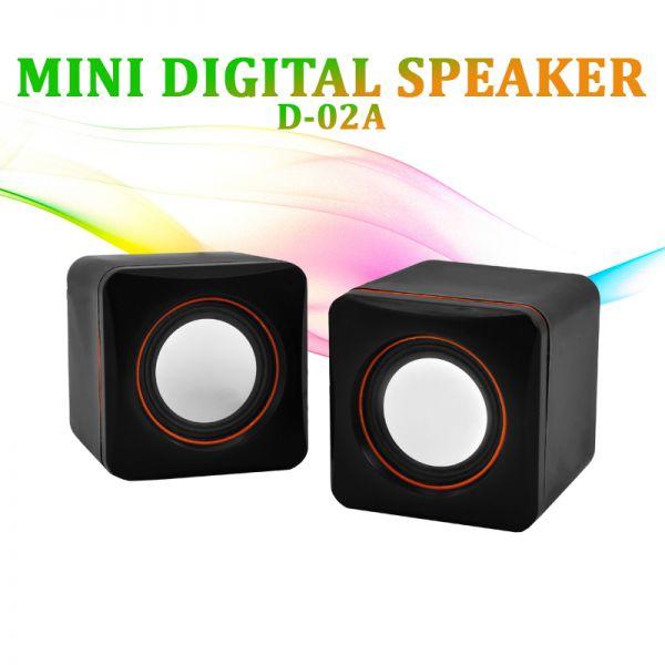 Колонки USB Mini Digital Speaker D-02A