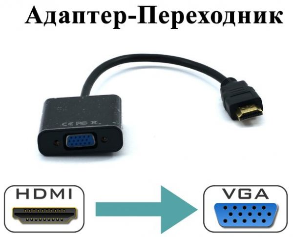 Переходник HDMI to VGA Adapter