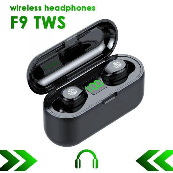 TWS F9 беспроводные наушники Bluetooth 5.1(ОРИГИНАЛ)