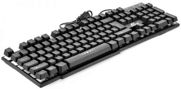 Клавиатура проводная Frime Firefly Black