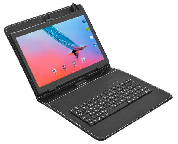 Игровой 4G планшет MiXzo MX1041 на Android 7.0 2GB Ram 32GB Rom + Чехол-клавиатура + Карта памяти 32GB