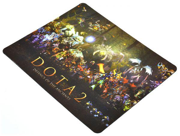 Качественный игровой коврик стилизованный под игру DOTA 2