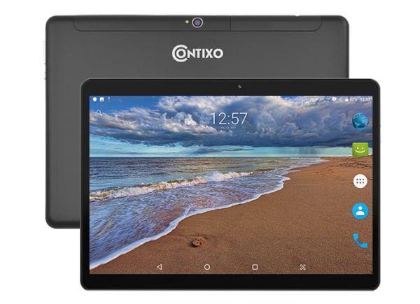 Супер Игровой  Планшет-Телефон CONTIXO KT101A 3/32GB 4G BT FM GPS + Чехол-вкладыш + Карта памяти 64GB