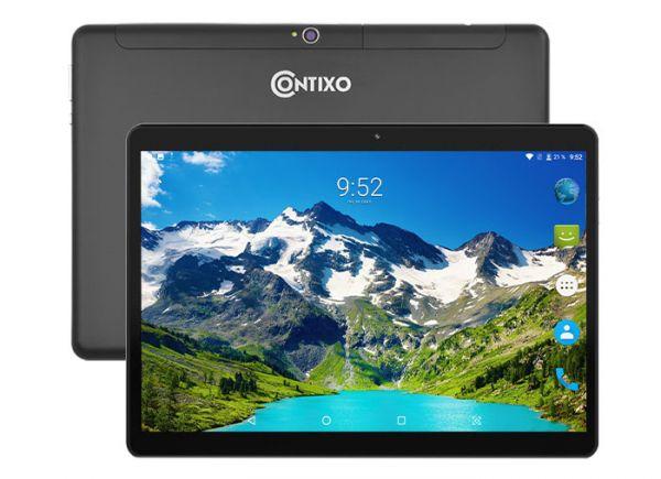 Супер Игровой  Планшет-Телефон CONTIXO KT101A 3/32GB 4G BT FM GPS + Чехол-вкладыш + Карта памяти 32GB
