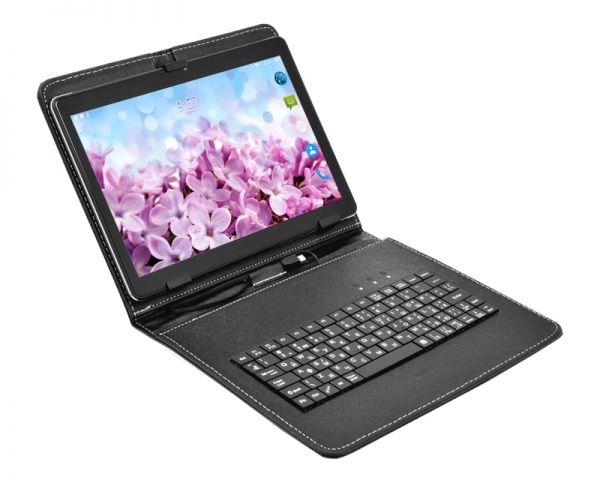 Супер Игровой  Планшет-Телефон CONTIXO KT101A 3/32GB 4G BT FM GPS + Чехол-клавиатура + Карта памяти 64GB