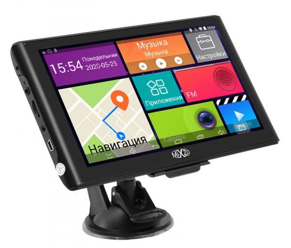 "GPS навигатор MiXzo MX760DVR 7"" 8 Ядер 1/16GB FM AV Android 4.4"