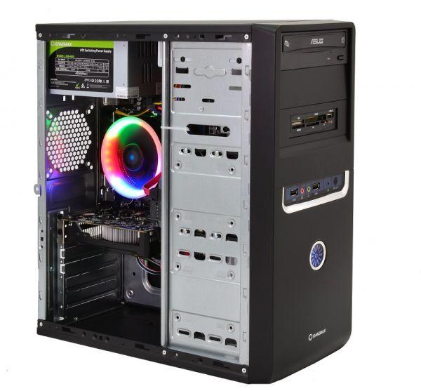 Cовременный  Компьютер для Ученика  ZEVS PC UCHENIK U1 X4 860K +RX 550 2GB + WEB камера + Игры