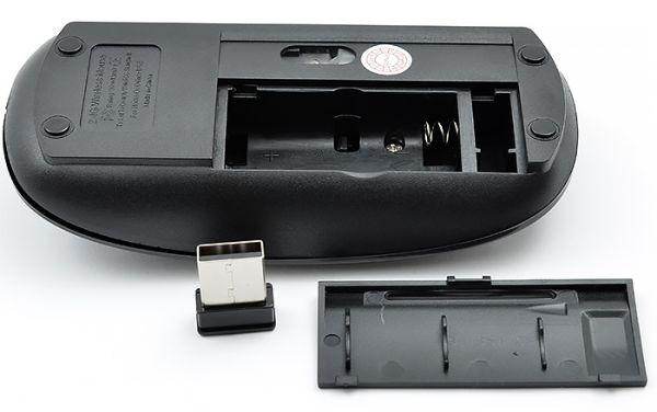 Мышь беспроводная Run Teng black (Apple Design)