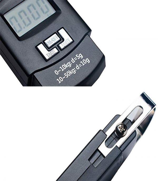 Весы-кантер электронные хозяйственные до 50 кг Portable Electronic Scale WH-A08