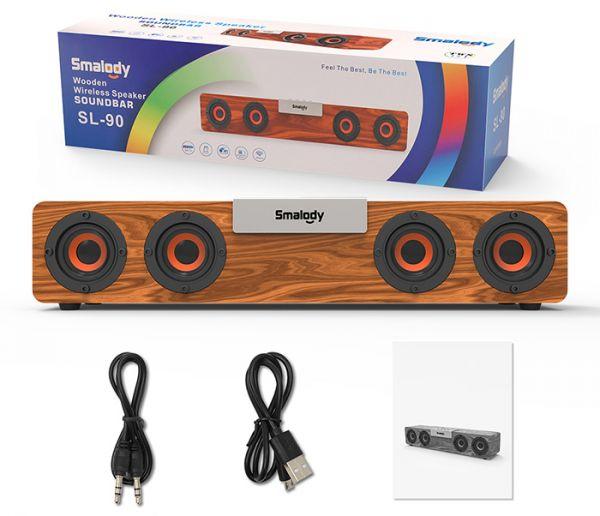 Мощная портативная Bluetooth колонка SMALODY SL-90