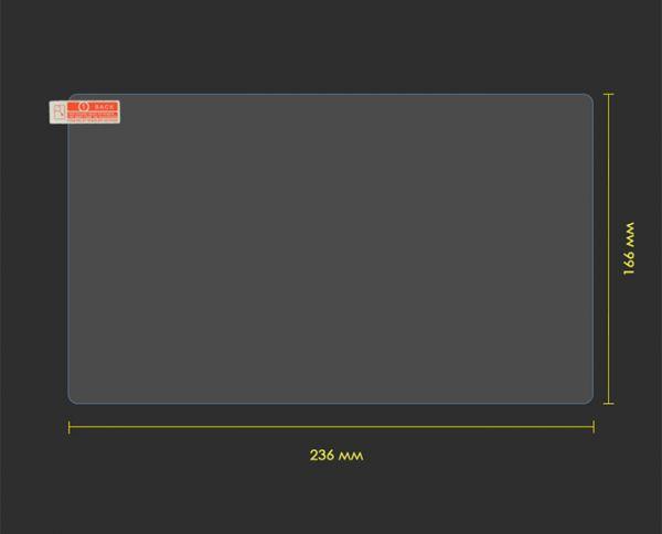 """Защитная пленка на планшет MiXzo MX1026 с диагональю экрана 10.1"""""""