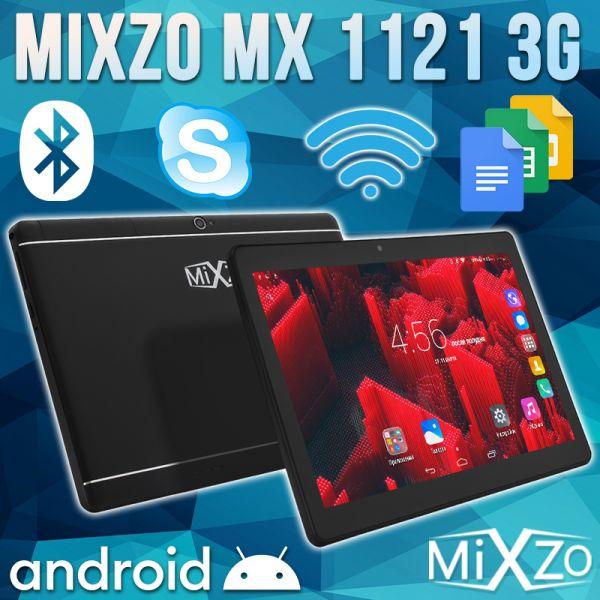 Надежный недорогой 3G Планшет MiXzo MX1121 3G 10.1'' IPS 2/16GB GPS