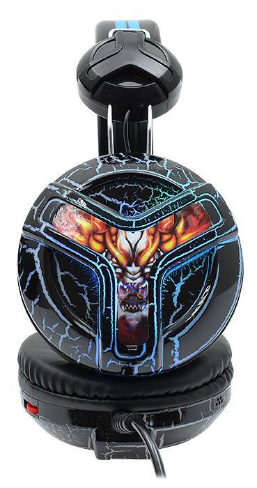 Наушники проводные игровые UKC 6969 с микрофоном Черные