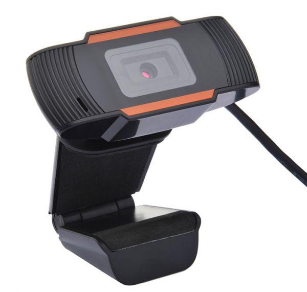 Универсальная веб камера с микрофоном для компьютера ноутбука с разрешением Full HD 1920x1080