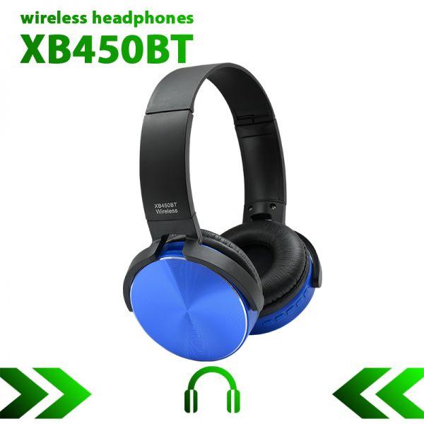 Беспроводные Bluetooth наушники WIRELESS XB450BT (ОРИГИНАЛ)