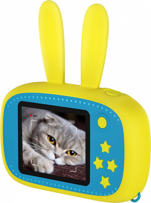 Детский фотоаппарат Children's fun Camera Зайчик для развития творчества ребенка + Карта памяти 8GB