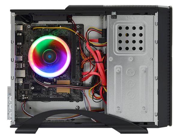 Хороший Мультимедийный ПК ZEVS PC 7005U Intel Pentium G4560 8GB DDR4
