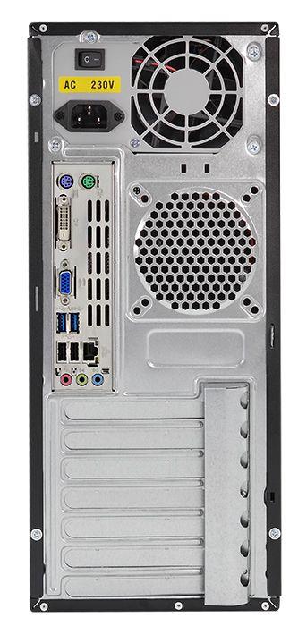 Офисный ПК ZEVS PC A410 Intel core i3 4130 + 240GB SSD + Программы!